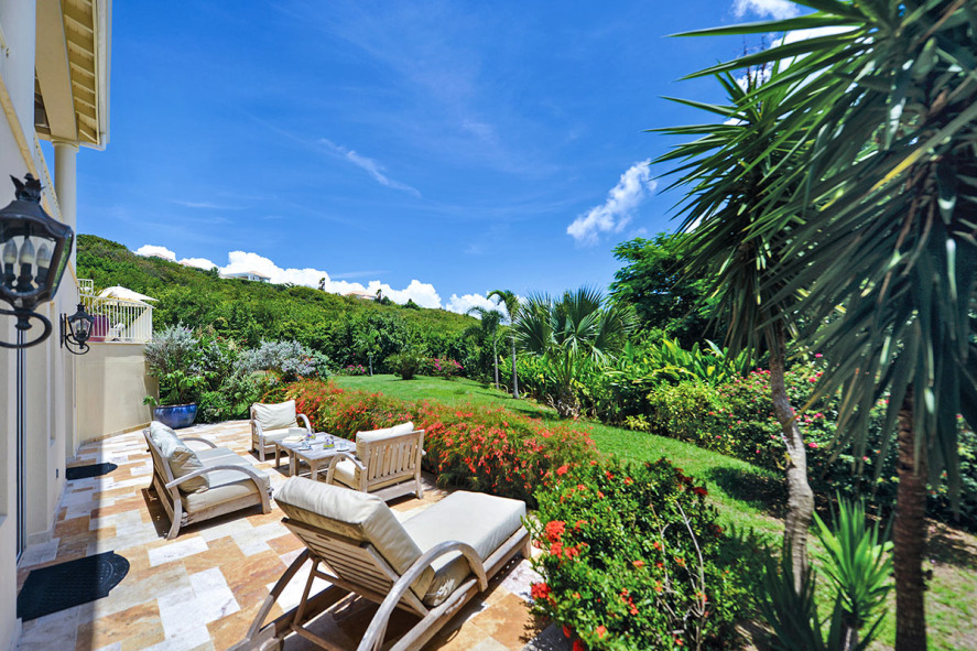 Maison de r ve villa in st martin mac caribbean villas for Villa de reve