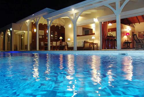Dream in Blue Villa Rental