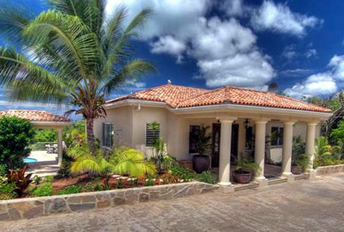 Maison de r ve villa in st martin mac caribbean villas for Villa de reve